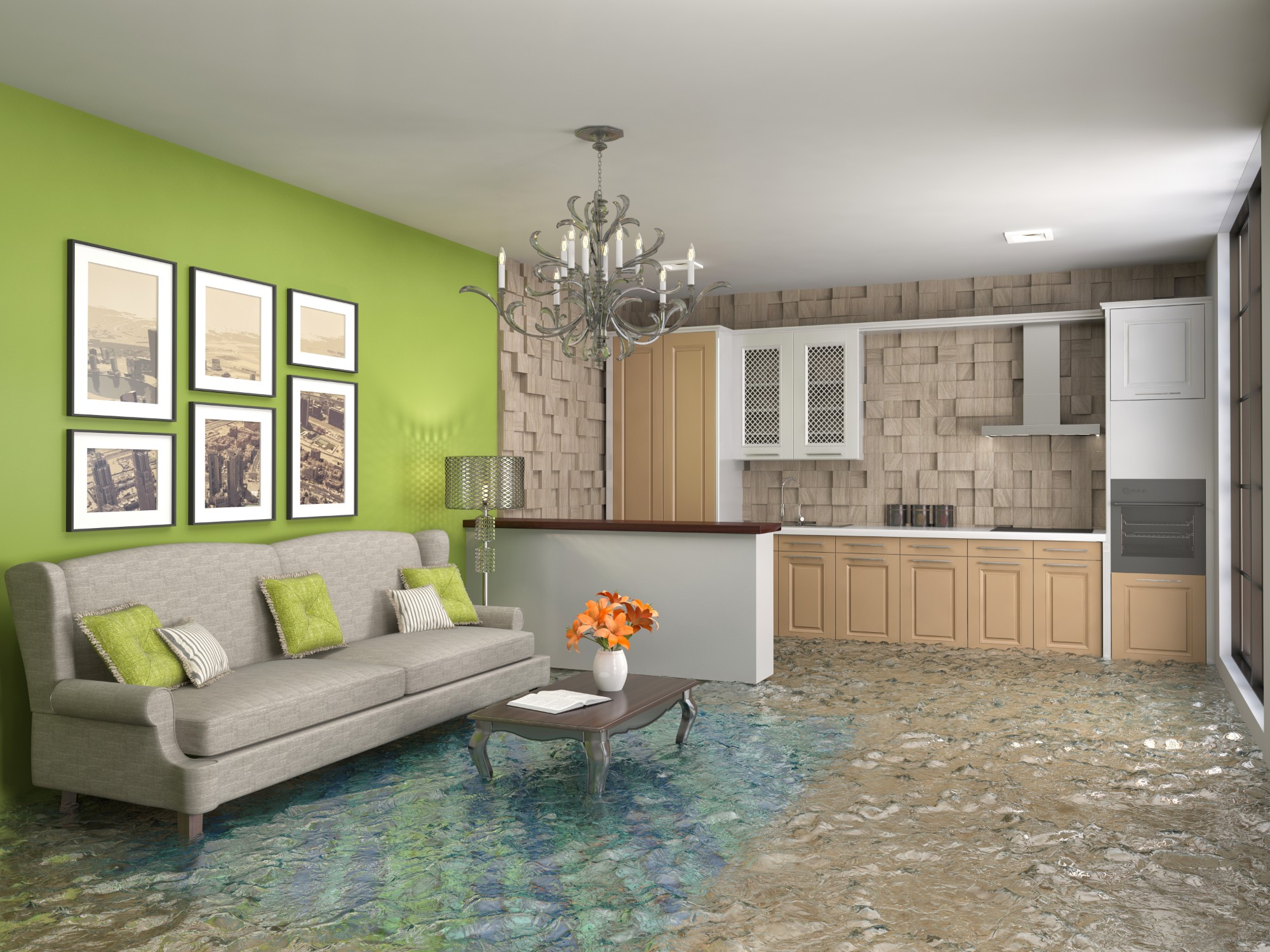Water damage in New Jersey